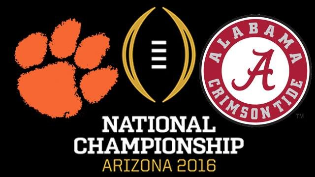 「national championship game 2016」の画像検索結果