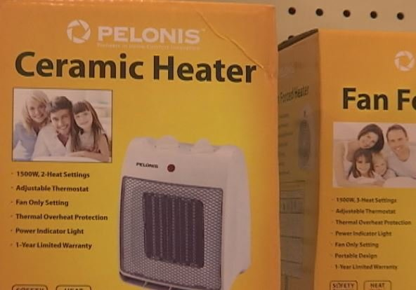 Space heater. (Source: Fox Carolina)