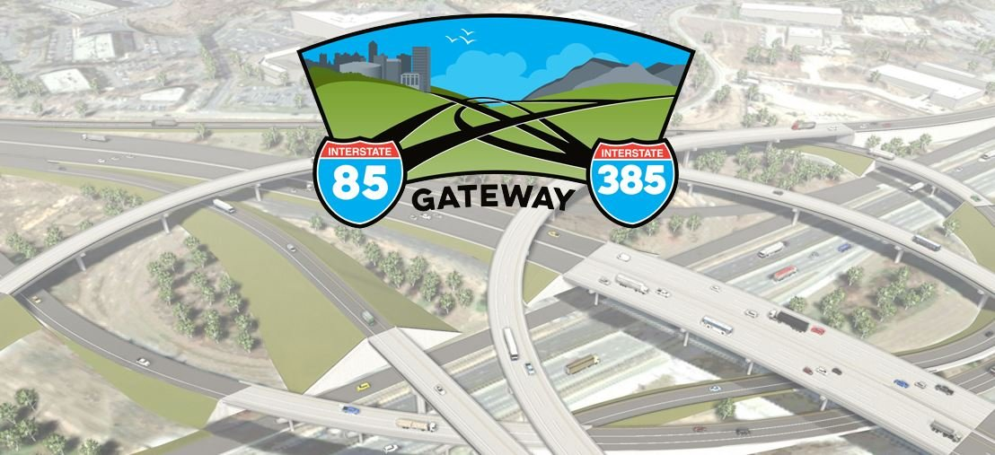 85-385 Gateway project logo (Courtesy: SCDOT)