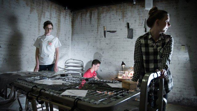 """The Kidnapping"" escape room. (Source: Breakout Games/Facebook)"