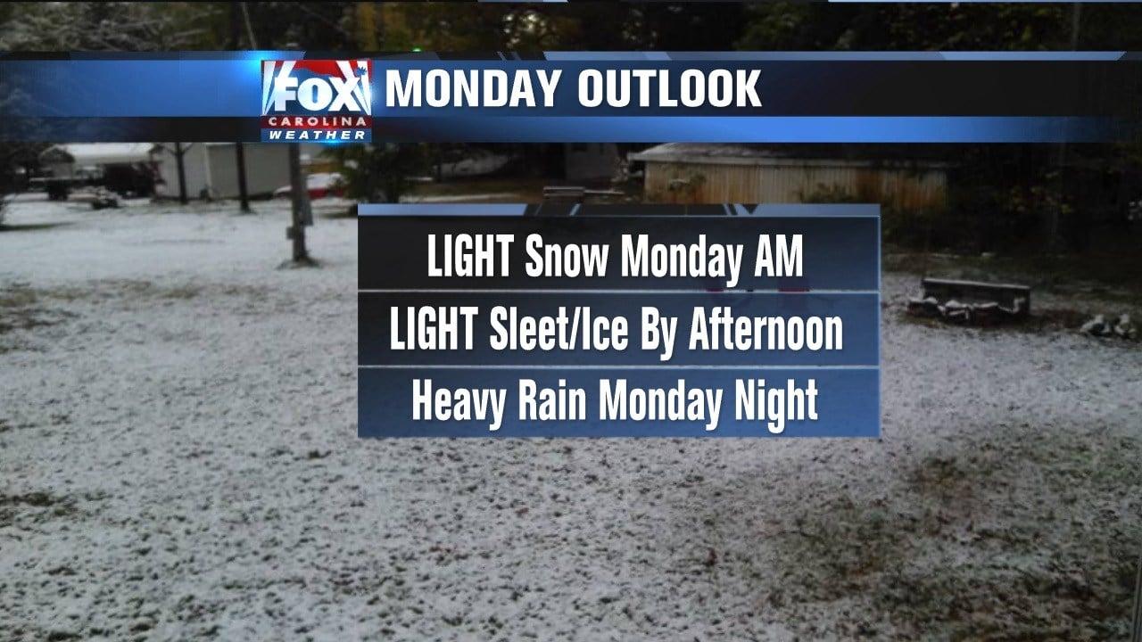 Snow, sleet and rain to hit Mid-Atlantic, Northeast