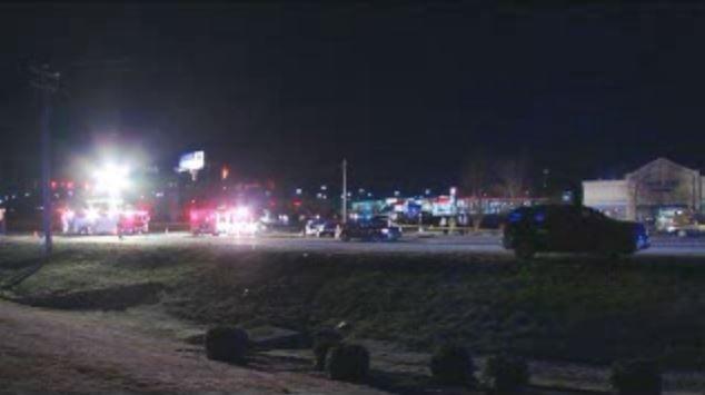 Crash on Anderson Road at Highway 153 (FOX Carolina/ Feb. 18, 2016)