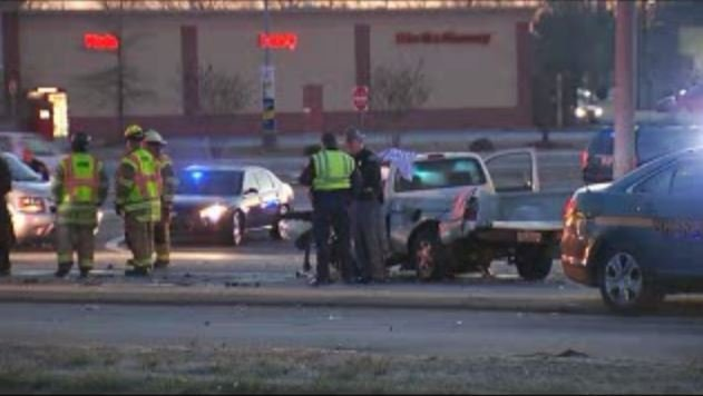 Troopers and firefighters at scene of deadly crash