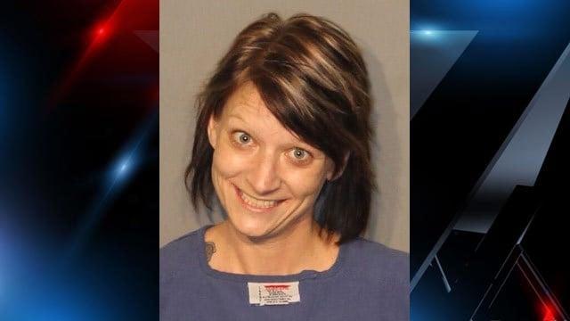 Thomason's mugshot after her January arrest