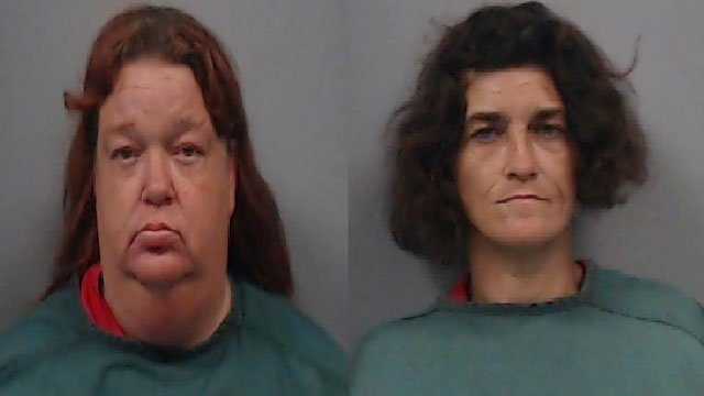 Brenda Edgins (Left) and Carla Fulmer (Source: Newberry County Sheriff's Office 8/16/2018)