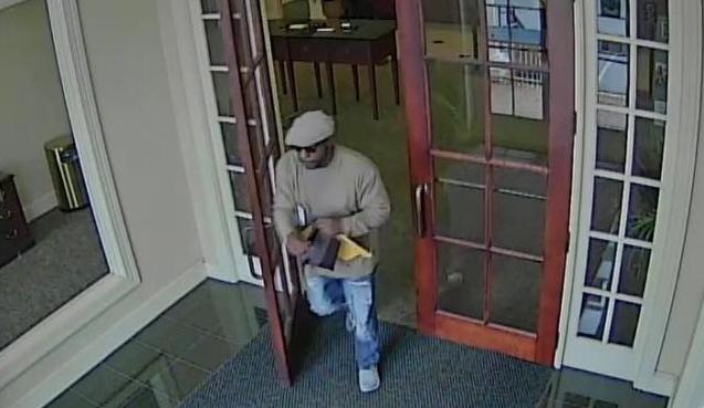 Spartanburg Police release images of bank robber (Source: Spartanburg Police Dept./8-15-2018)