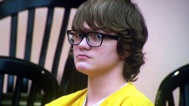 Jesse Osborne appears in court (Feb. 16, 2018/FOX Carolina)