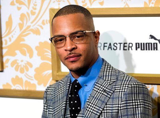 Rapper TI (Photo by Charles Sykes/Invision/AP, File)