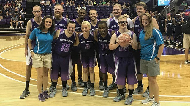 Greenville basketball team wins silver in Special Olympics USA G