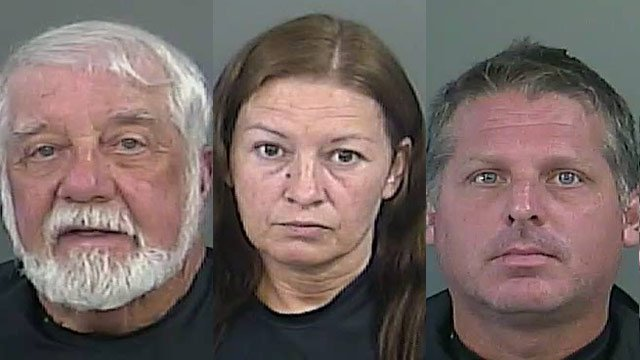 Fowler (left), Peggy O'Leary (middle), William O'Leary (right). (Source: ACSO).