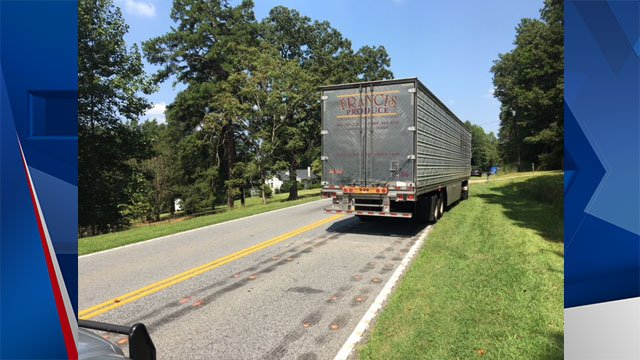 Tractor Trailer Head On : Schp woman air lifted to hospital after head on with